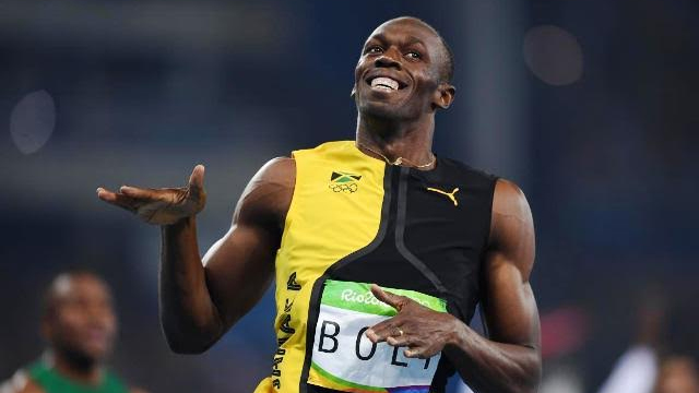 Usain Bolt Gets Gold Medal in Rio