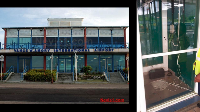 ATM Vanishes from Vance W. Amory International Airport on Nevis