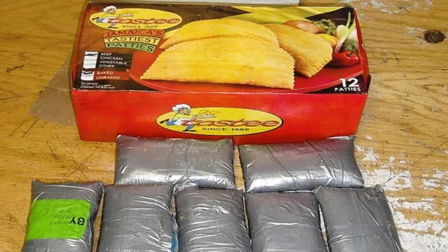 Jamaican Busted, Cocaine in Beef Patty