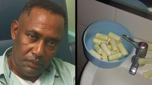 Man Who Ingested Cocaine Pellets Slapped with Three Drug-related Charges
