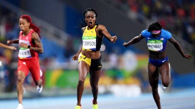 Elaine Thompson Victorious Despite Hamstring Injury