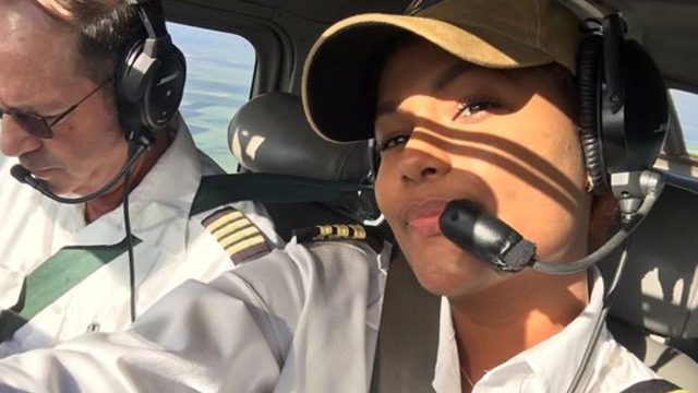 Steps Away from Becoming Youngest Commercial Pilot in Caribbean