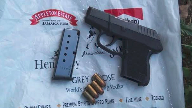 SKN Police Seize another Illegal Firearm